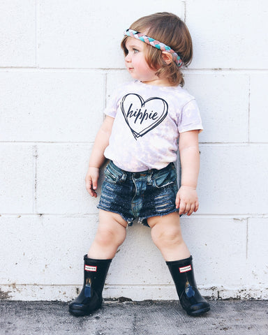 """Hippie"" Baby - Toddler Tee"
