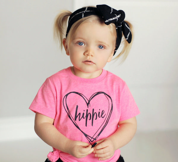 """Hippie Heart"" Baby - Toddler Tee"