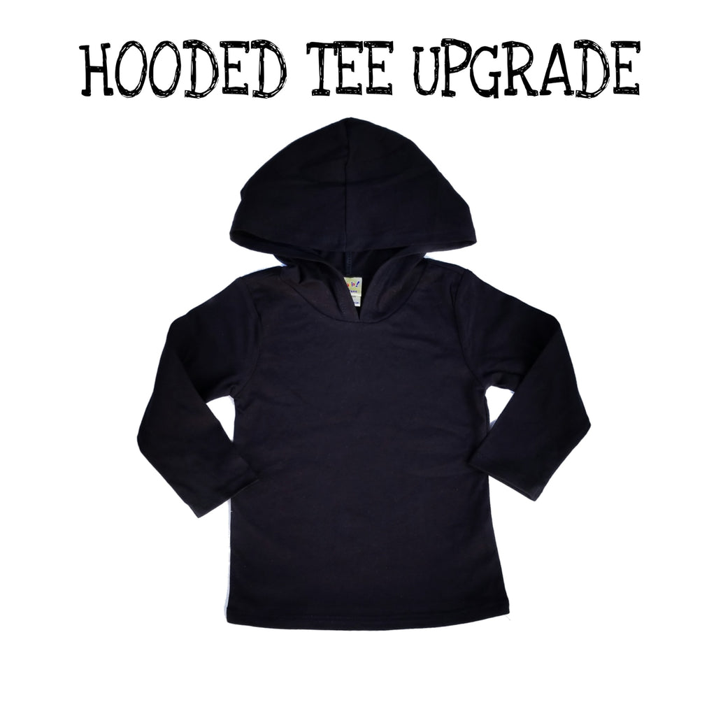Upgrade To Baby / Toddler Hooded Tee