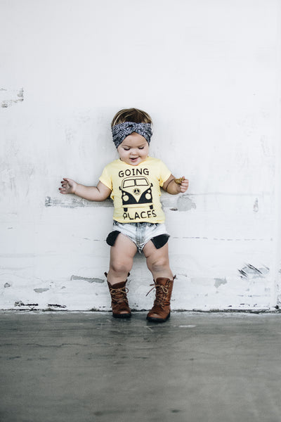 """Going Places"" Baby - Toddler Tee"