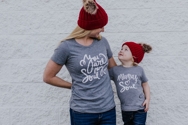 """Mama's Soul"" Baby - Toddler Tee"