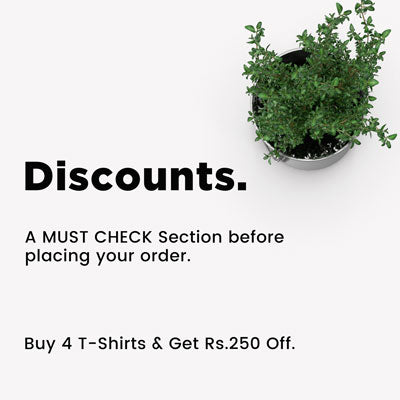 Discounts section banner