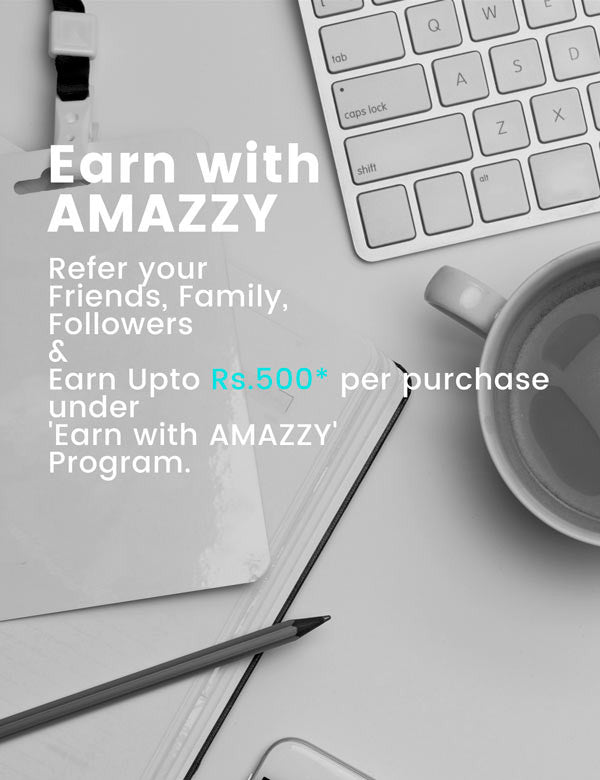Earn with AMAZZY (mobile home page banner)