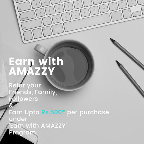 Earn with amazzy Banner