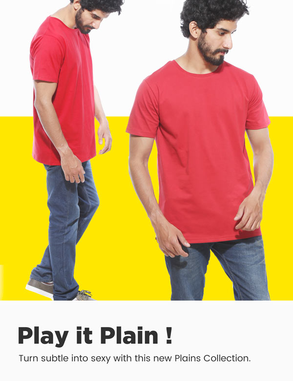 Plain T shirts for Men