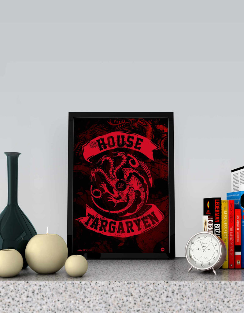 House Of Targaryen - GOT Frame View