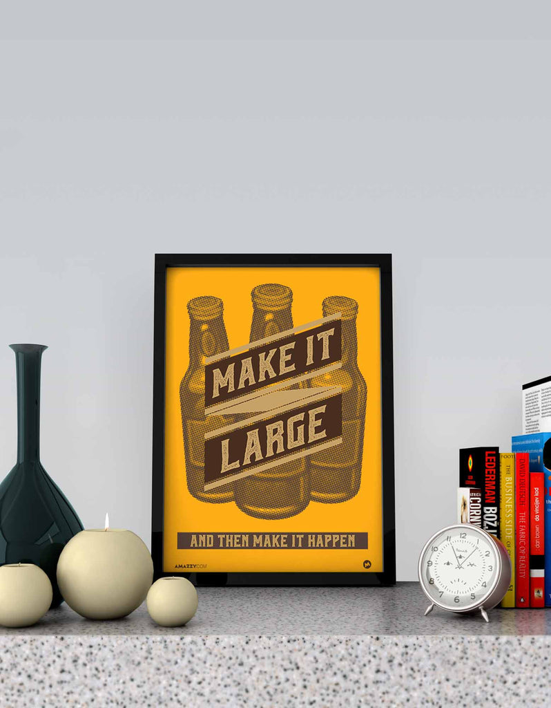 Make It Large - Beer Frame View