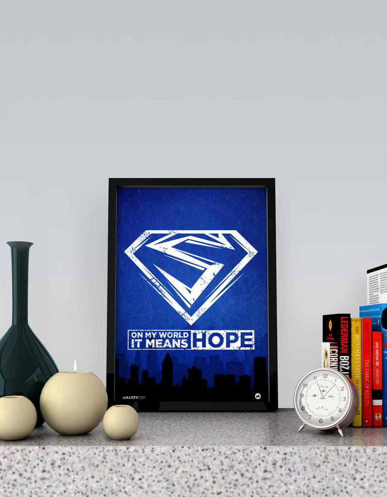 Hope - Superhero Frame View