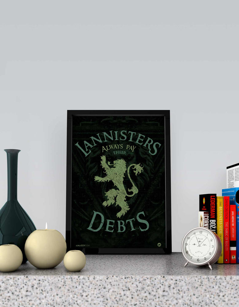 Lannister Pays Debts - GOT Frame View