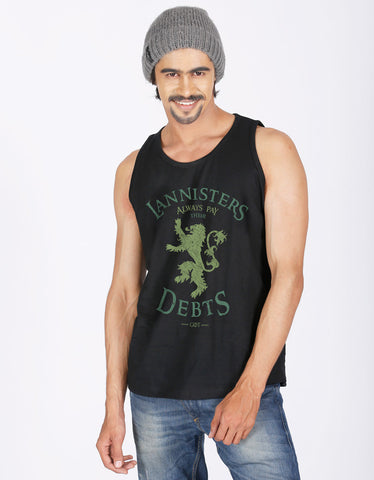 LANNISTERS PAYS DEBTS - Men's Vest