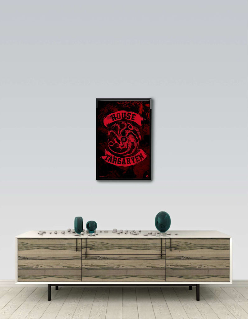 House Of Targaryen - GOT Frame Wall View
