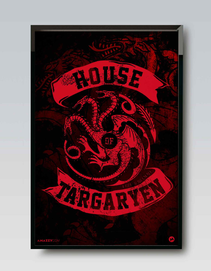 House Of Targaryen - GOT Frame Design View