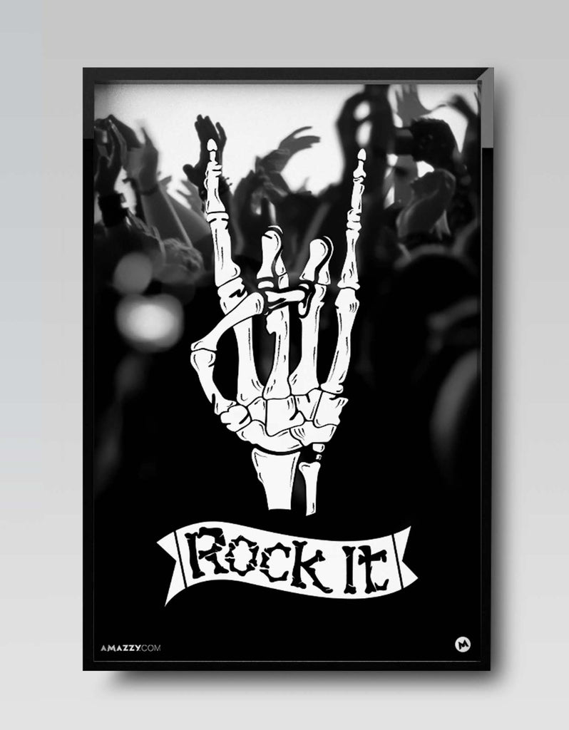 Rock It - Music Frame Design View