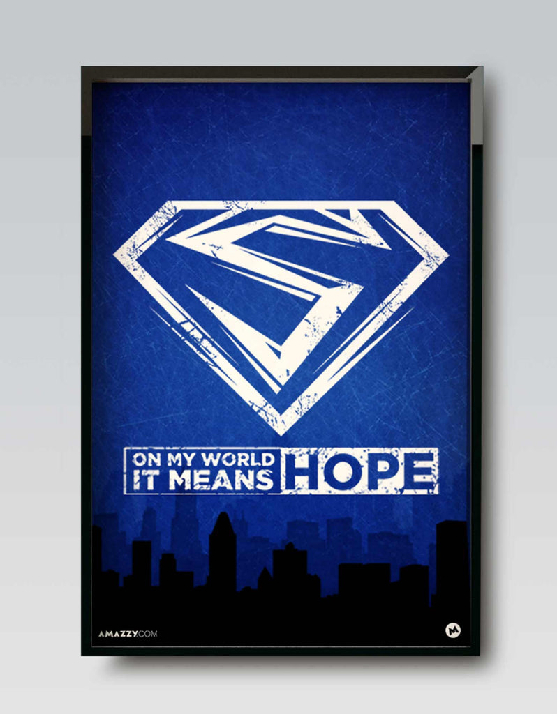 Hope - Superhero Frame Design View