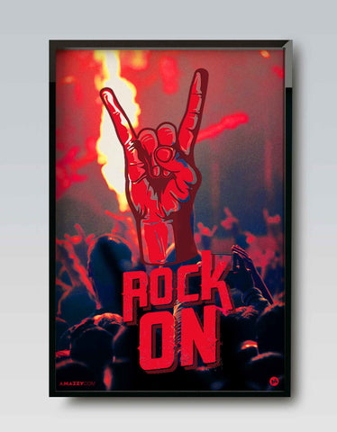 Rock On - Music Frame Design View
