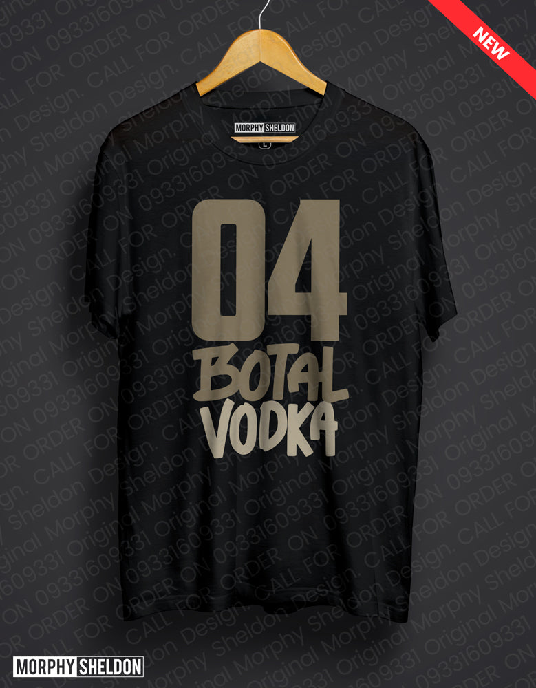 04 Botal Vodka Men's Graphic Print T-Shirt