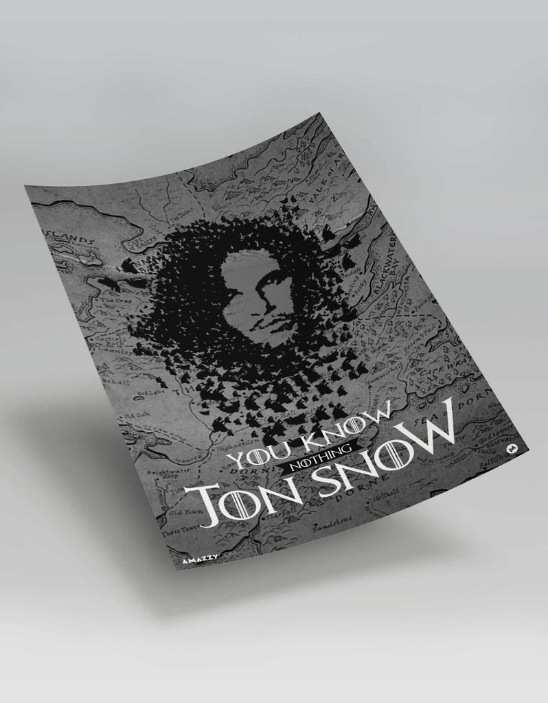 Jon Snow - GOT Poster View