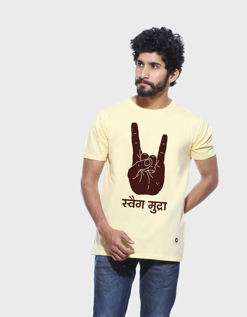 Swag Mudra Men's Cool T-shirt
