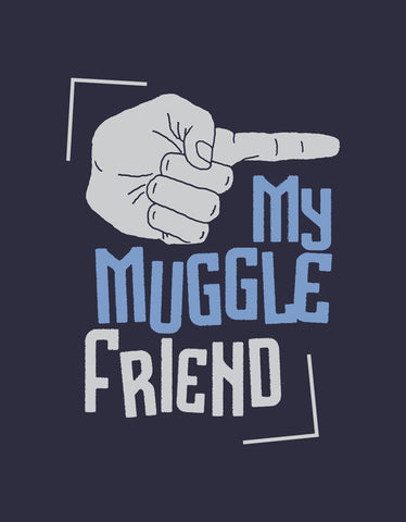 Muggle Friend Cool Men's Tshirt