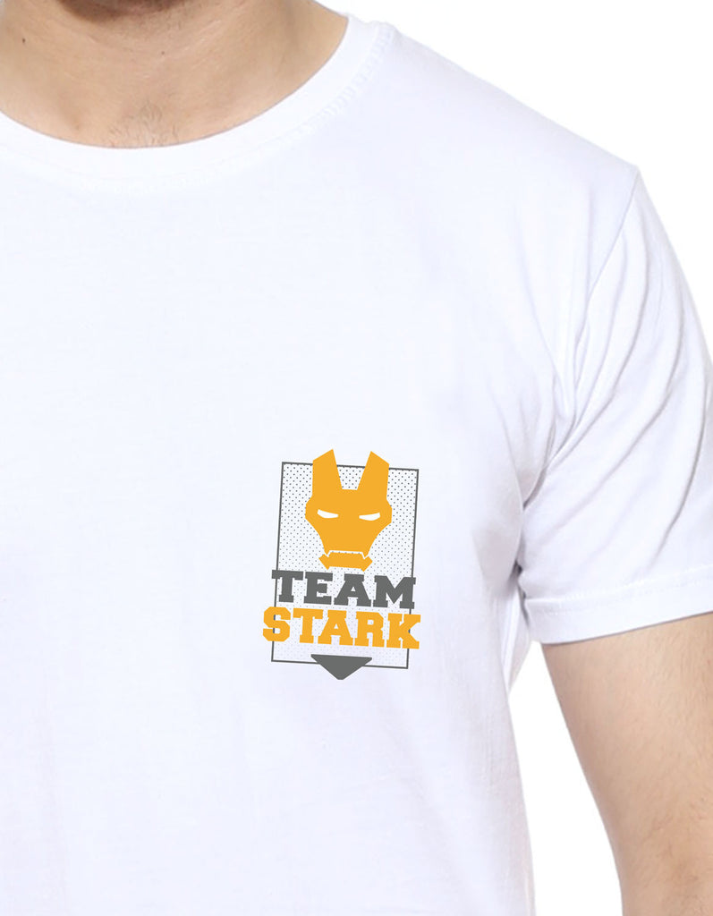 Team Stark White Men's Tshirt