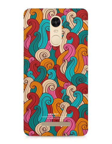 ABSTRACT CURLS - Xiaomi Redmi Note3 Phone Cover View
