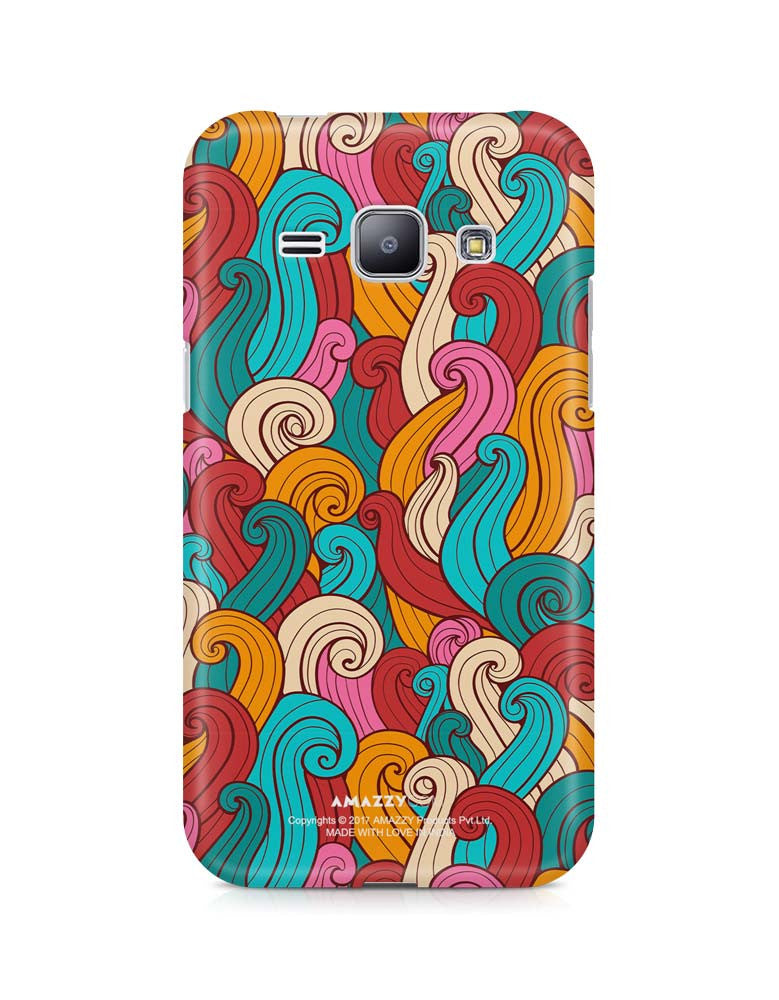 ABSTRACT CURLS - Samsung J1 Phone Cover