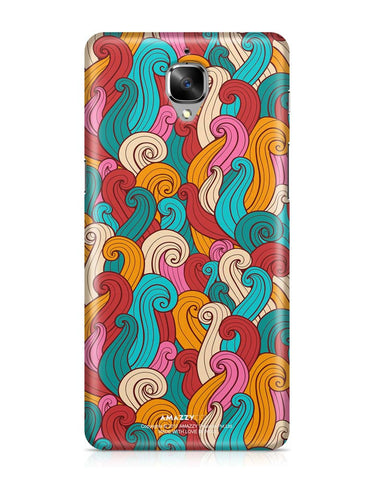 ABSTRACT CURLS - OnePlus 3 Phone Cover
