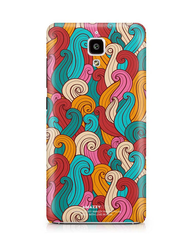 ABSTRACT CURLS - Xiaomi Mi4 Phone Cover