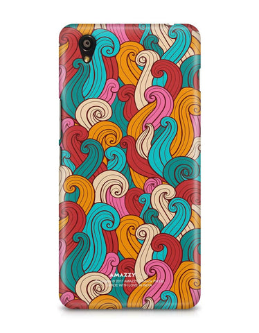 ABSTRACT CURLS - OnePlus X Phone Cover