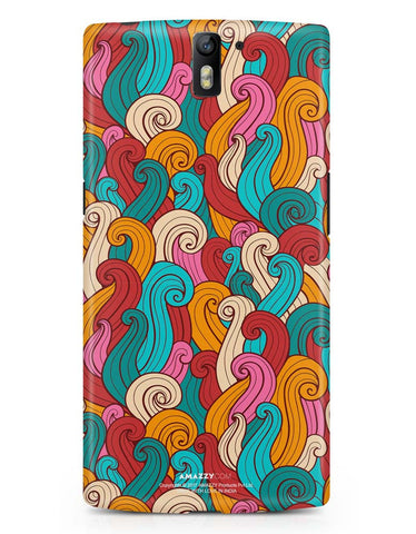 ABSTRACT CURLS - OnePlus 1 Phone Cover