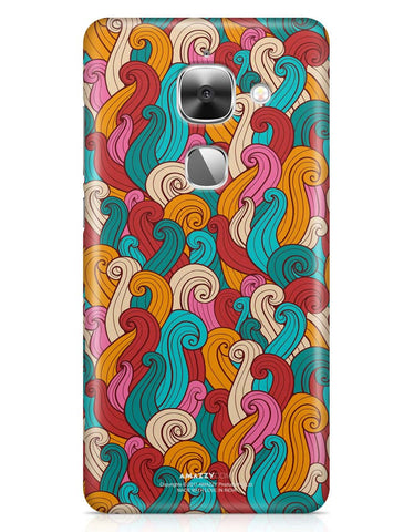 ABSTRACT CURLS - LeEco Le 2S Phone Cover
