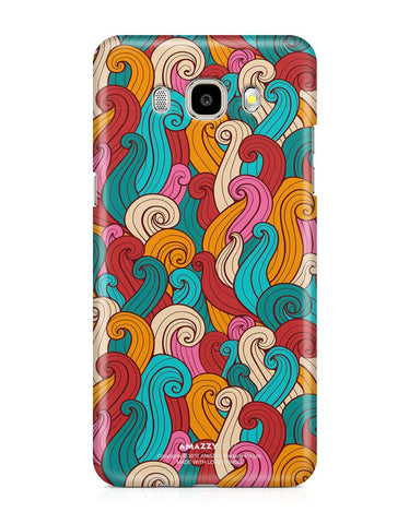 ABSTRACT CURLS - Samsung J5 (2016) Phone Covers