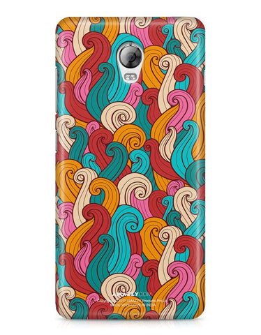 ABSTRACT CURLS - Lenovo Vibe P1 Phone Cover