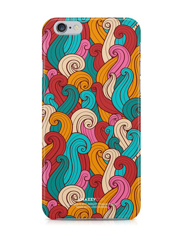 ABSTRACT CURLS - iPhone 6/6s Phone Cover