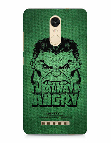 ALWAYS ANGRY - Xiaomi Redmi Note3 Phone Cover View