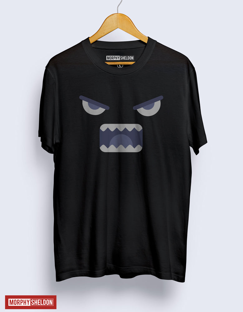 Angry Black Men's Graphic Print T-Shirt