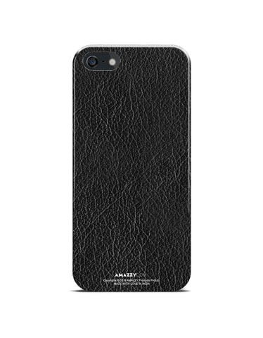Black Leather Texture - iPhone 5/5s Phone Cover