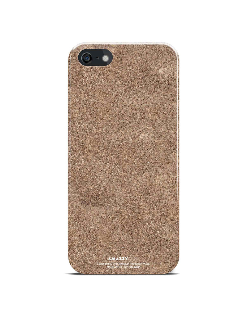 BRONZE Leather Texture - iPhone 5/5s Phone Cover View