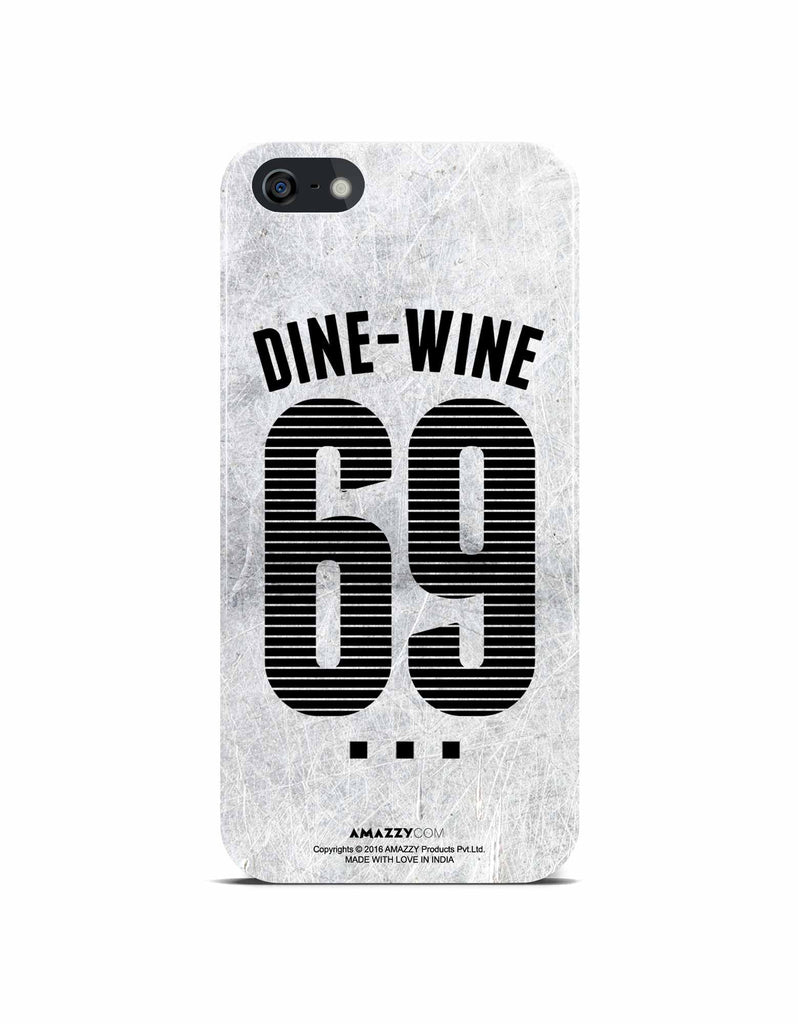 DINE-WINE-69 - iPhone 5/5s Phone Cover View