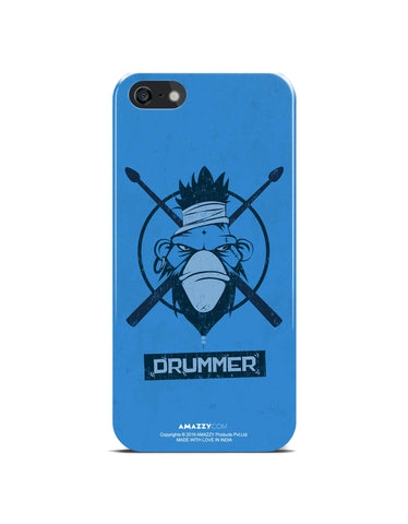 DRUMMER - iPhone 5/5s Phone Cover View