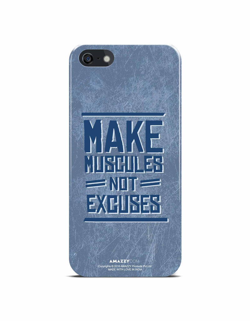 MAKE MUSCULE - iPhone 5/5s Phone Cover View
