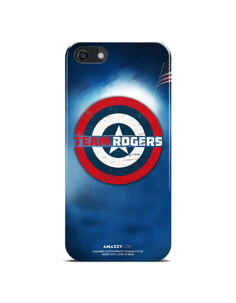 TEAM ROGERS - iPhone 5/5s Phone Cover View