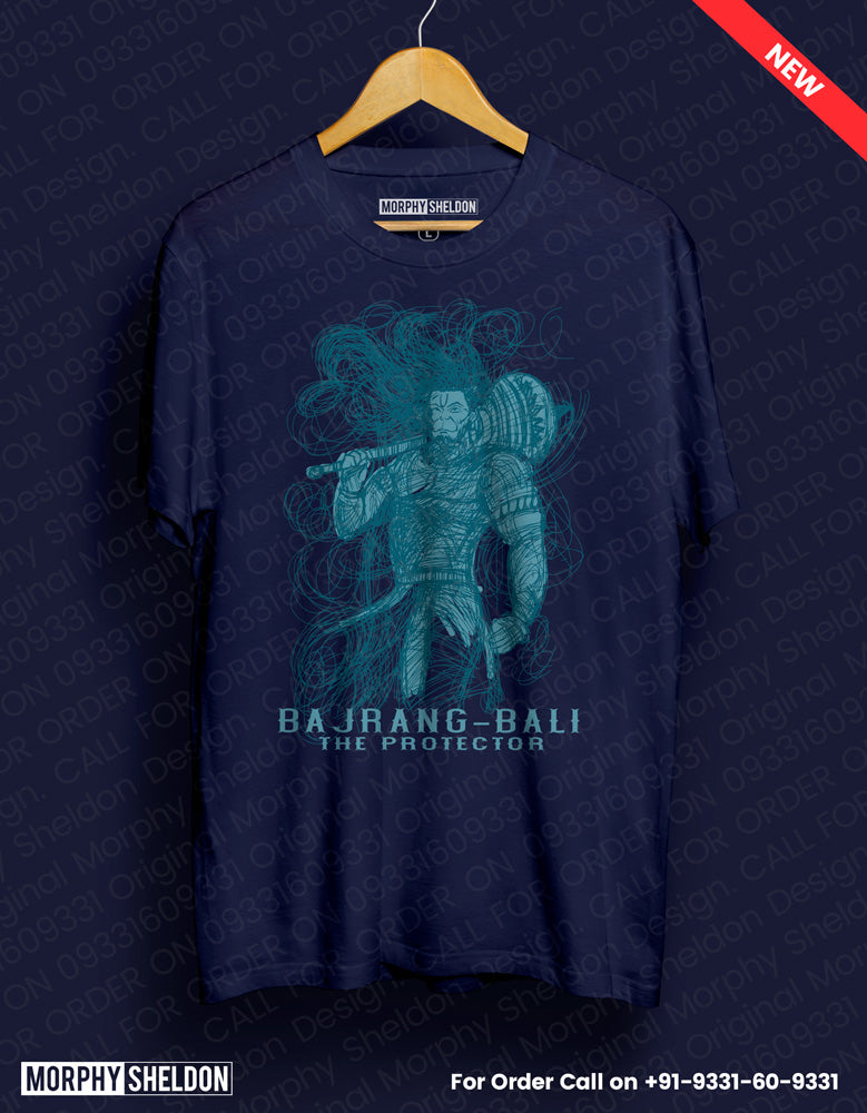 Bajrang Bali Men's Graphic Print T-Shirt
