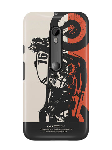 BIKE - Moto G3 Phone Cover