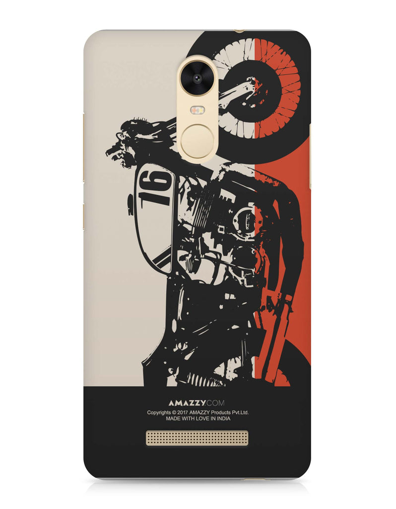 BIKE - Xiaomi Redmi Note3 Phone Cover View
