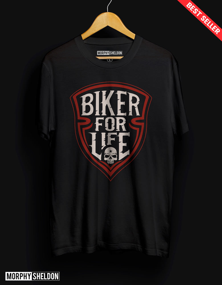 Biker for Men Men's Graphic Print T-Shirt