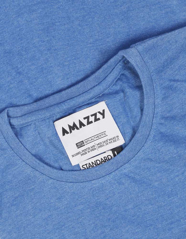 Blue Melange T Shirt
