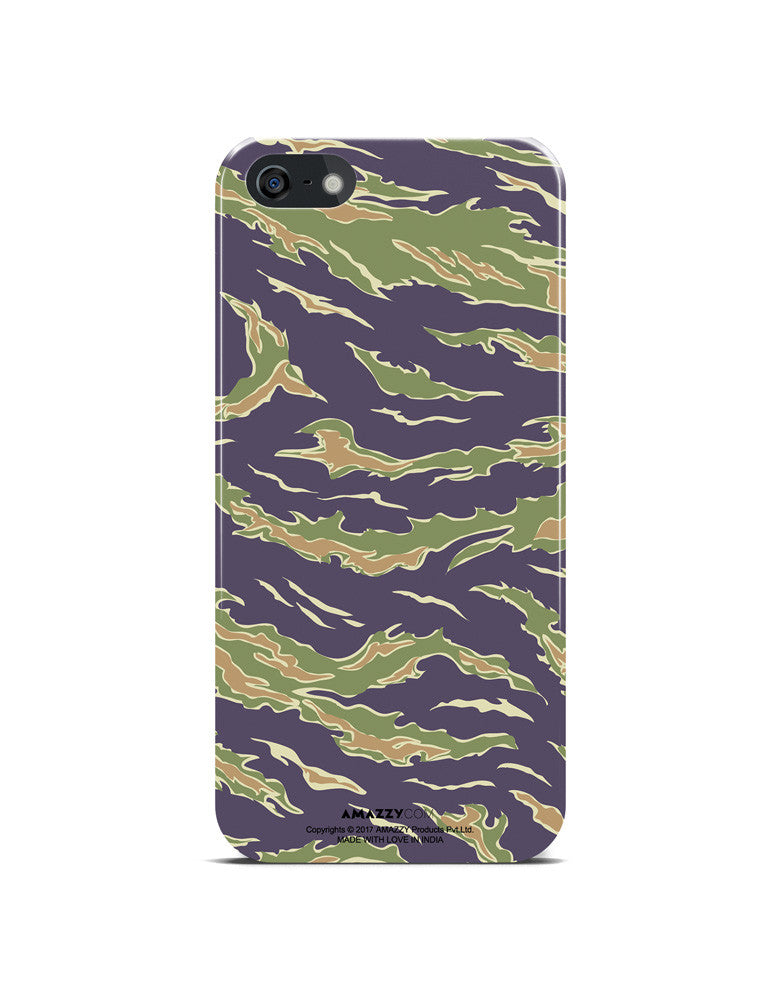 Camouflage Pattern - iPhone 5/5s Phone Cover View