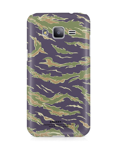CAMOUFLAGE PATTERN - Samsung J3 Phone Cover