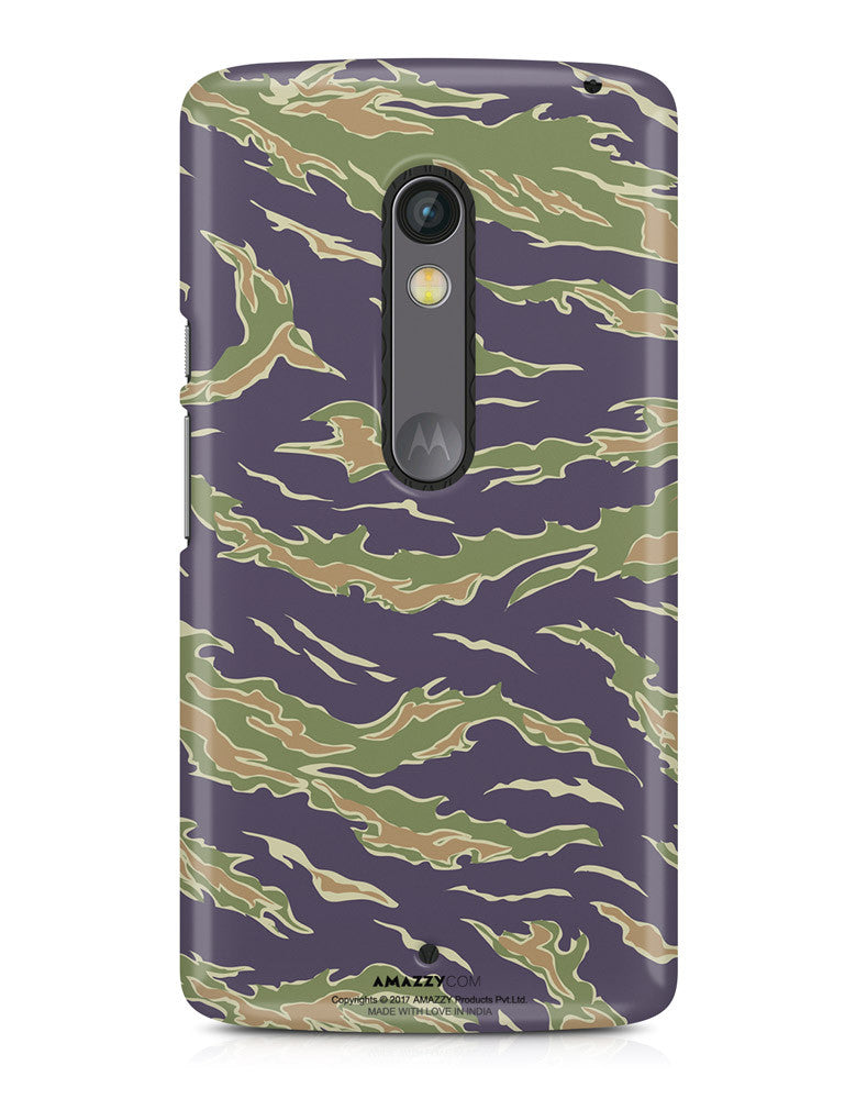 CAMOUFLAGE PATTERN - Moto X Play Phone Cover View